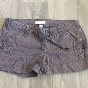 Brown Hollister Shorts Size 1